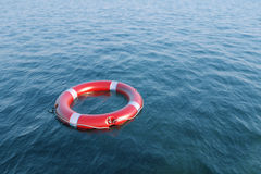 Lifesavers in the sea Stock Image