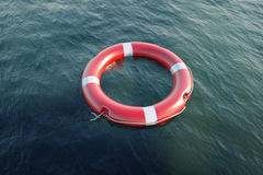 Lifesavers in the sea Royalty Free Stock Photos