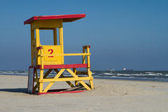 Lifesavers Station at the beach Royalty Free Stock Photo
