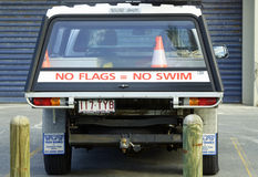Lifesavers vehicle loaded & prepared for any emergency Royalty Free Stock Image