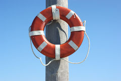 Lifesaving ring Royalty Free Stock Photo