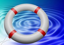 Lifesaving ring Royalty Free Stock Image