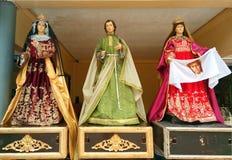 Lifesize представленные портреты Святого стоковое фото rf
