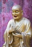 Lifesize статуи Будды, 10 тысяч монастырь Buddhas, Hong Ko Стоковые Фотографии RF