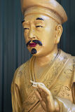 Lifesize статуи Будды, 10 тысяч монастырь Buddhas, Hong Ko Стоковая Фотография RF