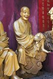 Lifesize статуи Будды, 10 тысяч монастырь Buddhas, Hong Ko Стоковое фото RF