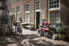 Lifestyle in Amsterdam Royalty Free Stock Image