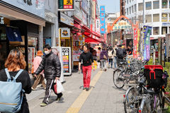 Lifestyle around Koenji Station Royalty Free Stock Photography