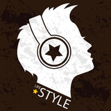 Lifestyle Art. For decoration artwork about fashion - vector Stock Photos