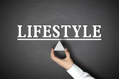 Lifestyle balance Royalty Free Stock Image
