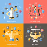 Lifestyle Of Bodybuilder Concept Stock Images