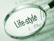 Lifestyle - Dictionary Definition Stock Photos