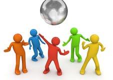 Lifestyle - Disco dancing Royalty Free Stock Image