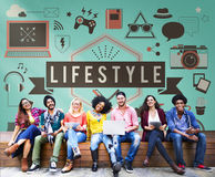 Lifestyle Hobby Passion Habits Culture Behavior Concept.  Stock Images