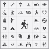Lifestyle icons universal set. For web and mobile Stock Image