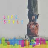 Lifestyle Independence Behavior Live Your Life Concept Stock Photos