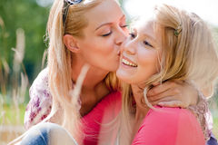 Lifestyle kiss Stock Images