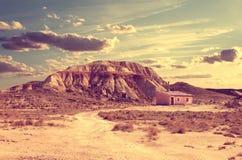 lifestyle La vie solitaire dans le désert Images stock