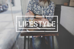 Lifestyle Life Hobby Actions Goals Concept Stock Photos