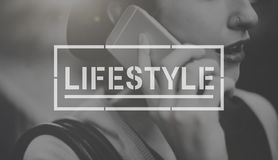 Lifestyle Life Hobby Actions Goals Concept. People Lifestyle Hobby Actions Inspiration Royalty Free Stock Photos