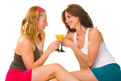 Lifestyle picture of young women Stock Photography