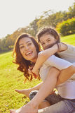 Lifestyle portrait mom and daughter Royalty Free Stock Images