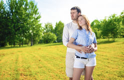 Lifestyle and Relationships Concept and Ideas. Young Caucasian C Stock Image