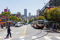 Lifestyle in San Francisco Stock Image