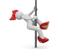 Lifestyle - Stripper Royalty Free Stock Image