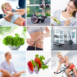 Lifestyle theme mix Stock Photos
