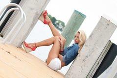 Lifestyle type shot in south Florida Stock Photo