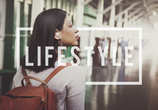 Lifestyle Way of Life Passion Habits Behavior Concept. Lifestyle Way of Life Passion Habits Behavior stock image