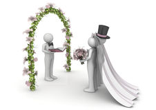 Lifestyle - Wedding ceremony Royalty Free Stock Image