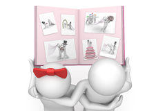 Lifestyle - Wedding photo album Royalty Free Stock Image