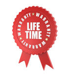 Lifetime warranty Stock Photos
