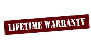 Lifetime warranty Stock Photo