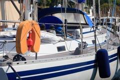 Lifevest orange Images libres de droits