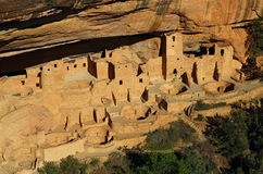 Liff Palace, Closer View, Mesa Verde National Park Royalty Free Stock Photography