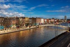 Liffey Bridge over the river Liffey in Dublin City Centre