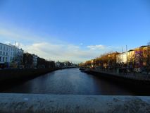 The Liffey River Old Man River royalty free stock images