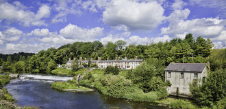 Liffey valley and river Stock Images