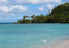 lifou пляжа стоковая фотография rf