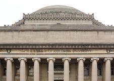 Lifrary Колумбийского университета в NYC стоковые фотографии rf