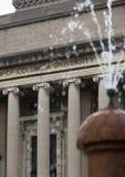 Lifrary d'Université de Columbia dans NYC image libre de droits