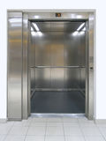 Lift. Elevator with open doors royalty free stock image