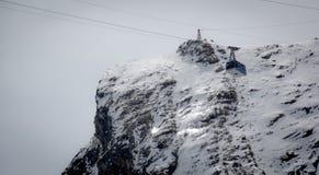 Lift in austrian ski resort in the Alps. Austria Stock Photos