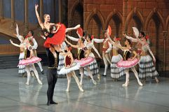 Lift in ballet Stock Images