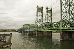 Lift Bridge over Columbia River Stock Photography