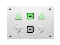 Lift control panel Stock Images