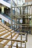 Lift in de bedrijfsbouw Stock Afbeeldingen